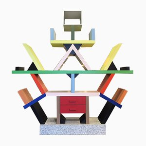 Carlton Wall Unit by Ettore Sottsass for Memphis, 1981