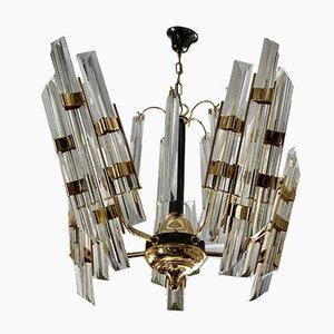 Lámpara de araña de Venini, años 80
