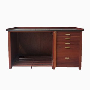 Modernist Desk from Paillard, 1940s