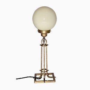 Lampe de Bureau Vintage en Laiton, 1950s