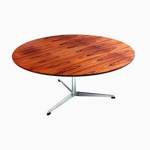 Tavolino da caffè grande 3515 in palissandro di Arne Jacobsen per Fritz Hansen, anni '60
