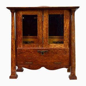 Mueble para fumadores Arts & Crafts antiguo