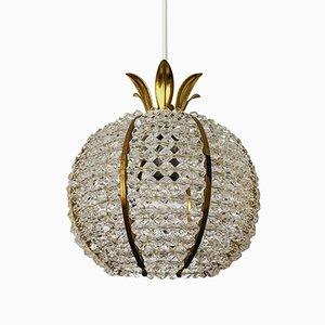 Lampe à Suspension Ananas par Emil Stejnar pour Rupert Nicholl, 1960s