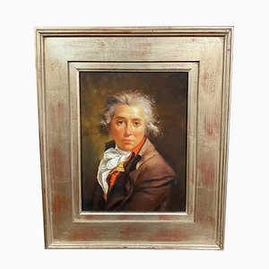 Portrait eines jungen Aristokraten, Öl auf Leinwand, 1950er