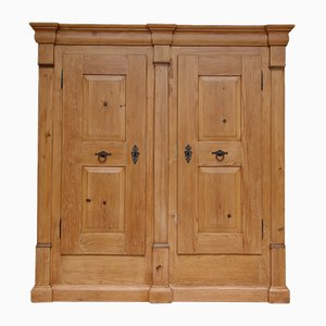 Biedermeier Softwood Wardrobe