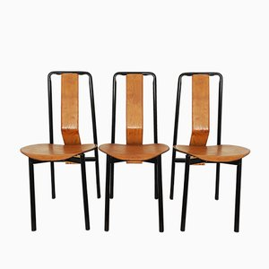 Sedie da pranzo Irma di Achille Castiglioni per Zanotta, anni '70, set di 3