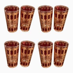 Set de Vaisselle de Culver, 1970s, Set de 8