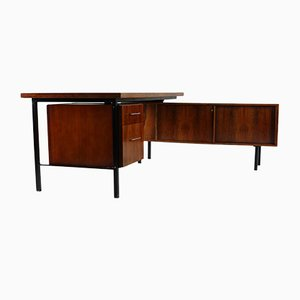 Rosewood Corner Desk, 1960s, Set of 2