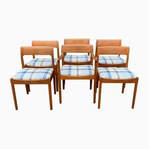 Sedie da pranzo di Norgaard Johannes per Norgaard Mobelfabrik, 1963, set di 6