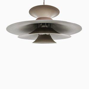 Lámpara de techo Radius I de Erik Balslev para Fog & Mørup, años 50