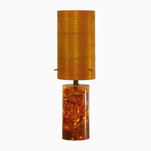 Resin Table Lamp by Pierre Giraudon, 1970s