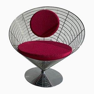 Fauteuil V-Chair 8800 par Verner Panton pour Fritz Hansen, 1980s