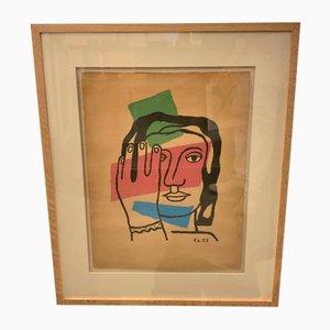 Lithographie von Fernand Léger, 1950er