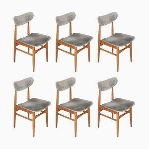 Esszimmerstühle von Peter Hvidt & Orla Mølgaard-Nielsen, 1950er, 6er Set