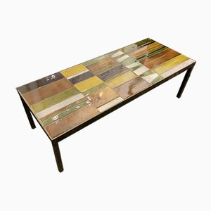 Ceramic Coffee Table by Roger Capron, 1960s