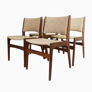 Danish Rosewood Dining Chairs from Dyrlund, 1960s, Set of 4