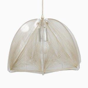 Deckenlampe von Paul Secon mit Nylon Saiten für Sompex, 1970er