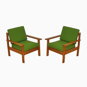 Mid-Century Armchairs from Walter Knoll / Wilhelm Knoll, 1960s, Set of 2