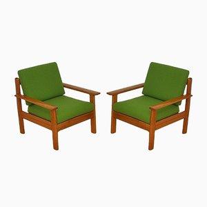 Mid-Century Armlehnstühle von Walter Knoll / Wilhelm Knoll, 1960er, 2er Set