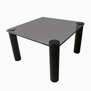 Smoked Glass Coffee Table from Habitat, 1980s