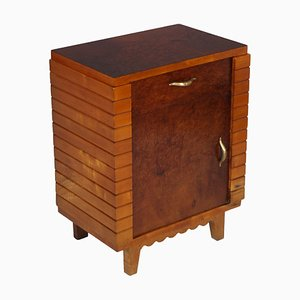 Mid-Century Modern Art Deco Nightstand from La Permanente Mobili Cantù, 1930s