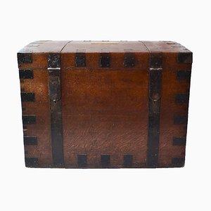 Antike silberne Reisetruhe von Brook & Son of Edinburgh