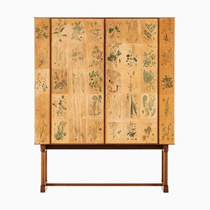 Swedish Model 852 Flora Cabinet by Josef Frank for Svenskt Tenn, 1937