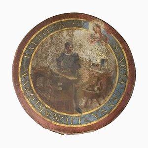 Französische Santa Anna Malerei, 19. Jh