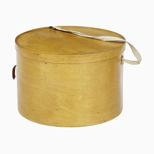 Luterma Reval Birch Bentwood Hat Box, 1920s
