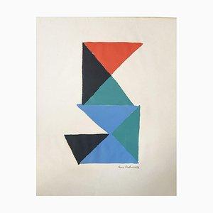 Lithografie von Sonia Delaunay, 1969