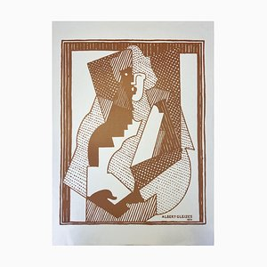 Orchard Paper Print by Albert Gleizes, 1920