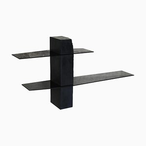 Adroit Sculpted Console Shelf by Frederic Saulou