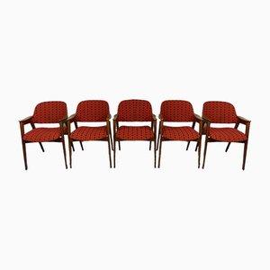 Esszimmerstühle, 1960er, 5er Set