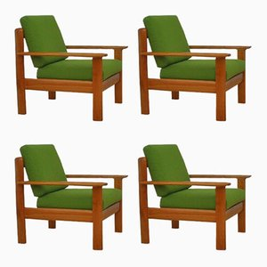 Mid-Century Armchairs from Walter Knoll / Wilhelm Knoll, Set of 4