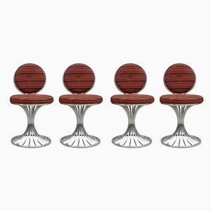 Esszimmerstühle von Gastone Rinaldi für Rima, 1960er, Set of 4