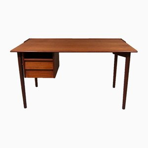 Swedish Teak Desk from Lammhults, 1960s