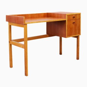 Swedish Teak & Oak Console Table, 1960s