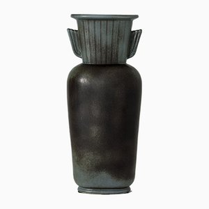 Stoneware Vase by Gunnar Nylund for Rörstrand, 1940s