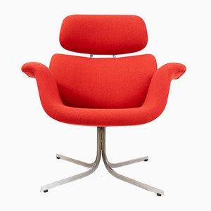 Großer Tulip Chair von Pierre Paulin für Artifort, 1970er