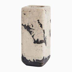Vaso Raku vintage in ceramica