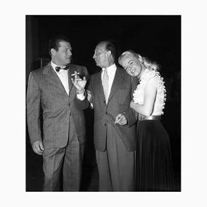Carson, Curtiz & Day Archival Pigment Print Framed in Black by Everett Collection