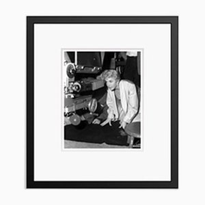 Doris Day Filming Love Me Or Leave Me Archival Pigment Print Framed in Black by Everett Collection