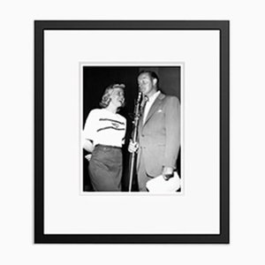 Doris Day & Bob Hope Archival Pigment Print Framed in Black by Everett Collection