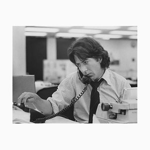 Dustin Hoffman Archival Pigment Print Framed in White by Everett Collection