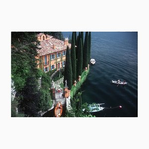 Giacomo Mantegazza Oversize C Print Framed in White by Slim Aarons