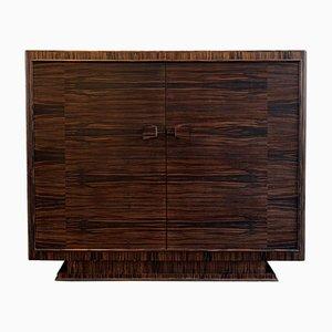 Art Deco Macassar Ebony Cabinet