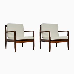 Mid-Century Scandinavian Armchairs, Set of 2