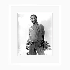 Dustin Hoffman in Papillon Archival Pigment Print Framed in White by Everett Collection