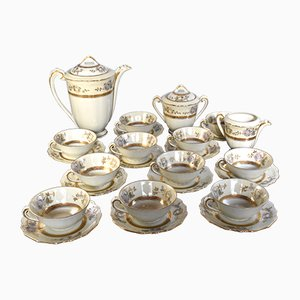 Vintage Tea/Coffee Set by Lucien Michelaud for Lucien Michelaud, Set of 25