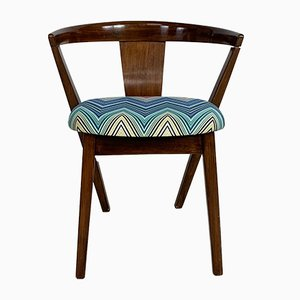 Mid-Century Dining Chair with Missoni Upholstery by Greaves & Thomas